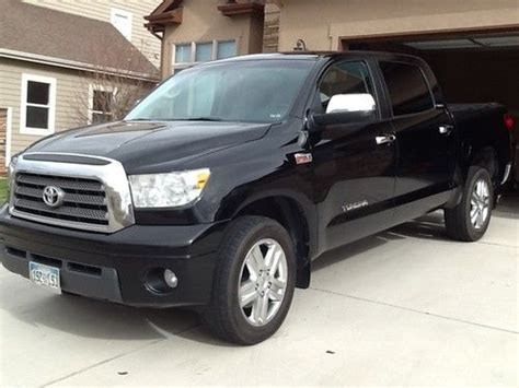 find used 2007 toyota tundra limited crew max pickup 4 door 5 7l in windsor colorado united