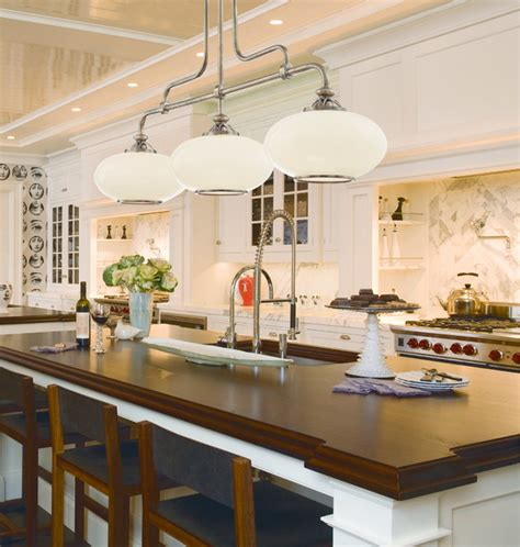 Farmhouse Kitchen Lighting Hudson Valley 9813 On Canton Nickel Island Light Farmhouse Kitchen Chicago By