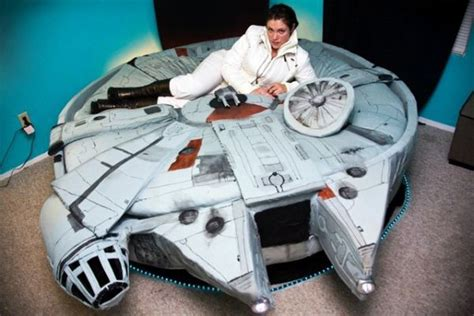 millennium falcon bed millennium falcon bed tickles us with its geeky force home crux