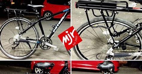 Rak Pannier Adjustable Alloy Vbrake Discbrake Taiwan toko sepeda majuroyal macam macam tas untuk sepeda