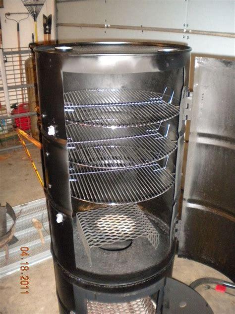 vertical barrel smoker  projects drum smoker