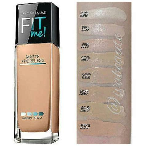 Maybelline Fit Me Foundation Concealer Matte Poreless In Jar maybelline fit me matte poreless foundations