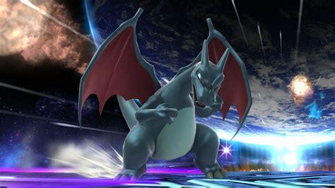 Shiny Medias Wiiwii by Shiny Charizard Smash Bros For Wii U Gt Skins