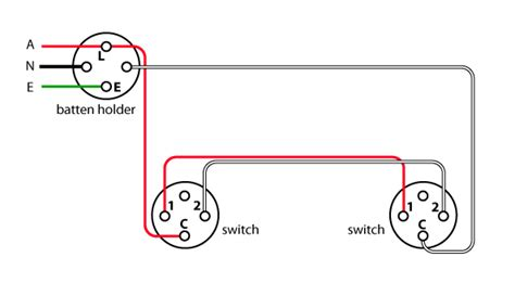 australian house light switch wiring diagram circuit and