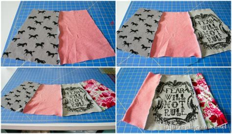upcycled clothing tutorials easy upcycled t shirt skirt infarrantly creative