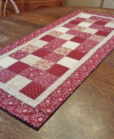 country table runner quilted table runner country table runner patchwork runner