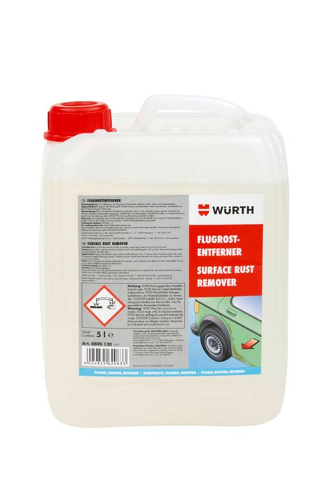 light surface rust removal surface rust remover