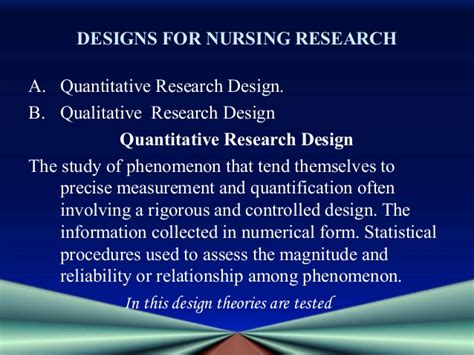research design definition nursing application of theories in nursing resea5 rch