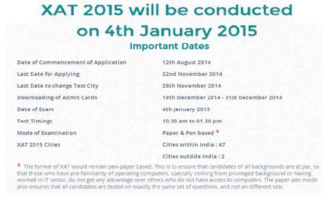 xlri xat 2015 registration pattern syllabus