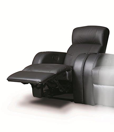 leather recliner with cup holder recliner chair with cup holder in black leather