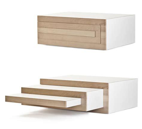 expandable furniture reinier de jong s expandable rek coffee table core77