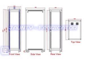 server cabinet manufacturer and supplier jaunty fabricator
