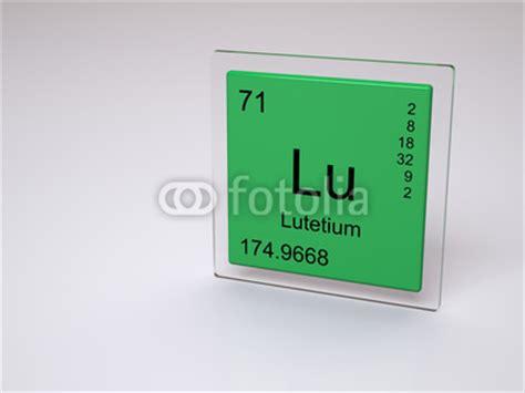 Lu Periodic Table by Quot Lutetium Symbol Lu Chemical Element Of The Periodic