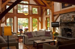 lake home interiors vermont lake house interior bensonwood gallery