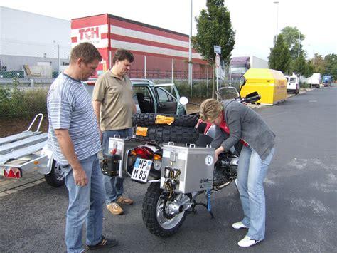 Bmw Motorrad Santiago De Chile by Chile Reisebericht Quot Verpackung Der Motorr 228 Der Quot