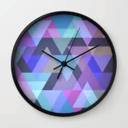 abstract clocks abstract i wall clock by gabriela aeissame society6