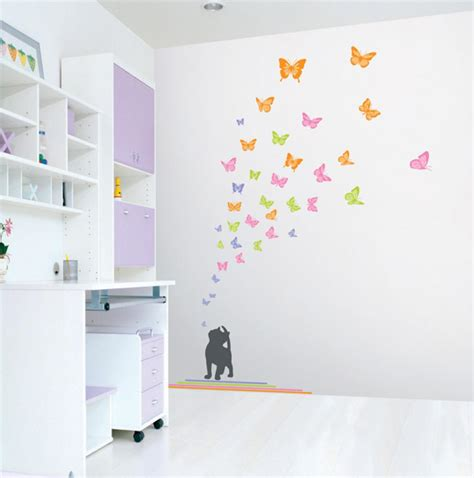 child bedroom wall decorations wall decals and sticker ideas for children bedrooms vizmini