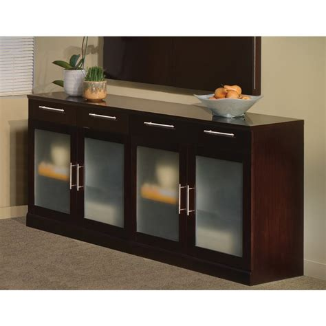 mayline sorrento buffet cabinet in espresso sbufesp