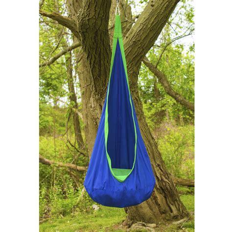 sorbus blue hanging rope hammock chair swing sorbus pod swing chair tent hanging seat hammock