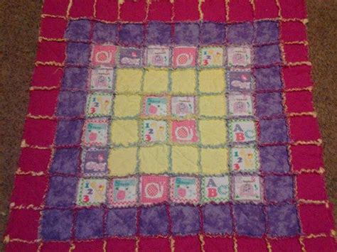 Baby Rag Quilts For Beginners by Bright Beginners Baby Rag Quilt