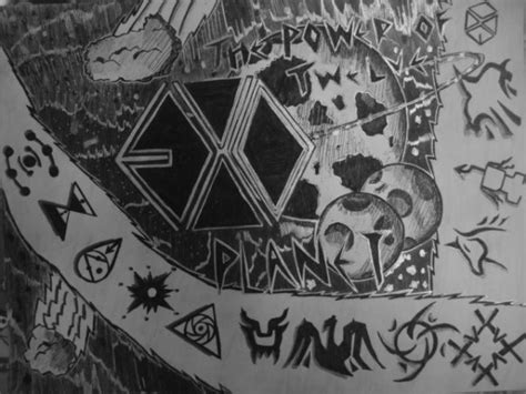 doodle exo exo doodle by gloriepearl on deviantart