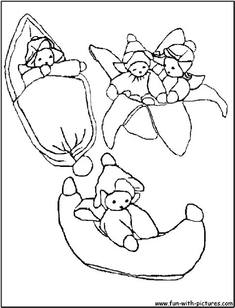 baby cartoon picture coloring page1