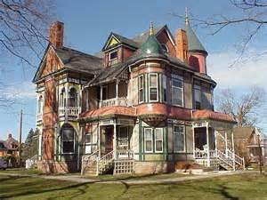 Victorian Mansions Haunted House Garden Grove Iowa Historic Queen Anne