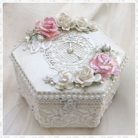 Handmade Jewellery Box Ideas - 25 best images about shabby boxes on burlap