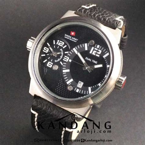 Swiss Army Original Sa 2016 jam tangan swiss army sa 1159 g dual time original jam