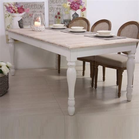tavolo bianco legno tavolo legno bianco shabby chic etnico outlet mobili etnici