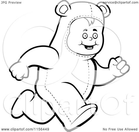 running bear coloring page polar bear face black and white