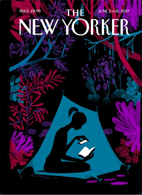 christoph niemann s enchanted forest the new yorker