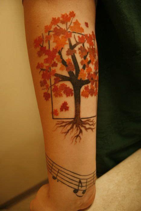 maple tree tattoo best 25 maple tree tattoos ideas on fall