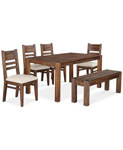 avondale 6 pc dining room set only at macy s table