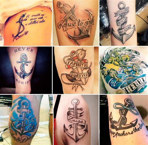tatuaggio ancora storia significato e 200 foto a cui
