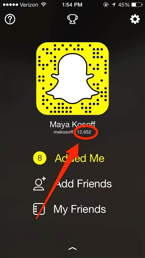 Find To Snapchat How To Find Your Snapchat Score Business Insider