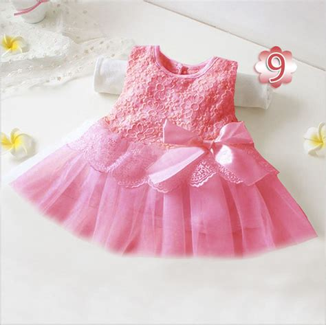 Dress Baby 0 12 Month fashion summer sleeveless 1 year baby dress 0