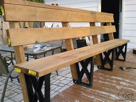 build deck bench 17 best ideas about deck benches on pinterest deck bench