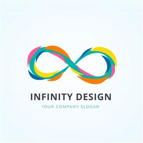 Multicolor infinity logo design Vector   Free Download