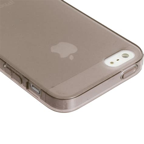 Colorant For Iphone 5c0 Clear color clear transparent tpu plain rubber skin cover for apple iphone 5 5g ebay