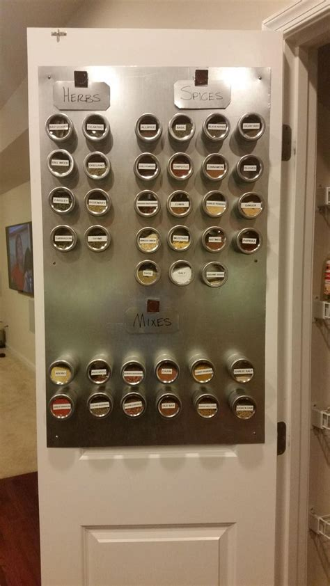 Spice Rack Door Mounted Pantry by 25 Best Ideas About Door Mounted Spice Rack On