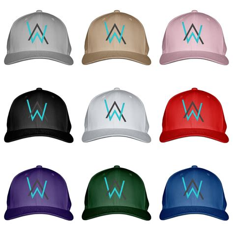 alan walker cap alan walker embroidered baseball cap by customon ebay