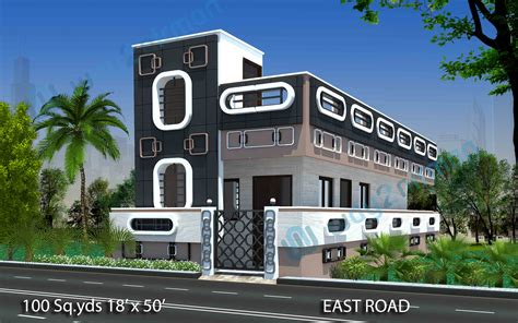 way2nirman 100 sq yds 18x50 sq ft south face house 2bhk way2nirman 100 sq yds 18x50 sq ft east face house 1bhk