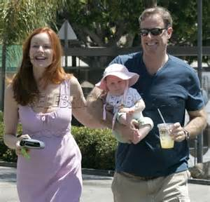 marcia cross tom mahoney wedding tom mahoney moms babies celebrity babies and kids