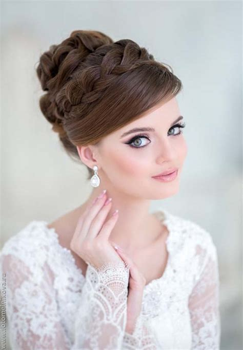 Wedding Hairstyles Updo With Headband by Stunning Wedding Hairstyles With Braids For Amazing Look
