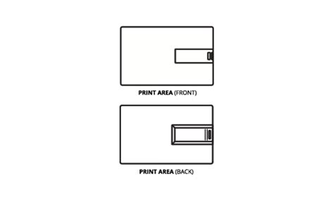 front and back flash card template usb drive templates