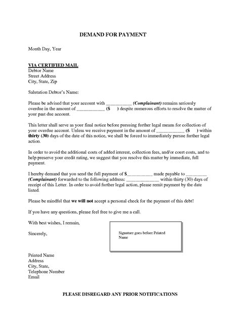 Patient Collection Letter Template Best Photos Of Exles Of Collection Letters For Offices Sle Collection