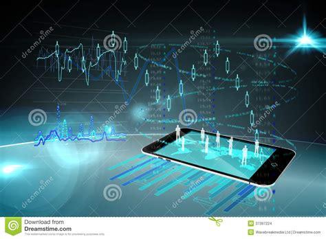 International Mba Technology by International Business Technology Background Stock