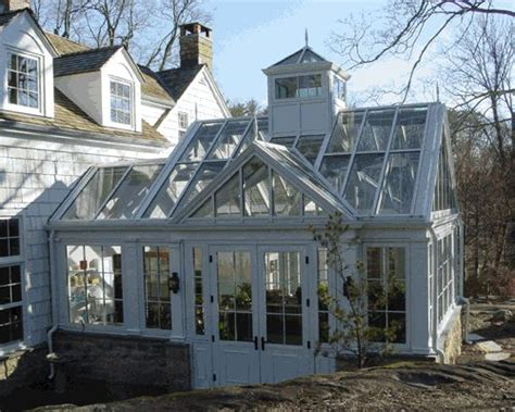 Attached Solarium Looking Greenhouse Attached To A Home And