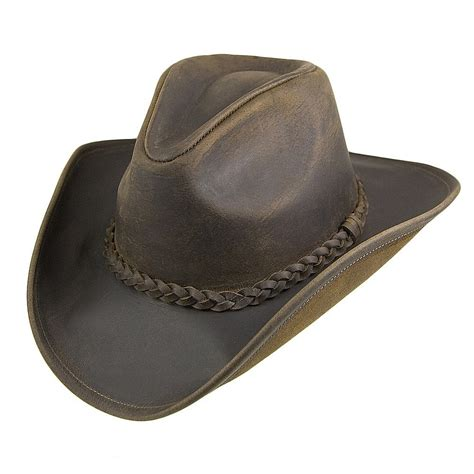 jaxon hats buffalo leather cowboy hat chocolate from